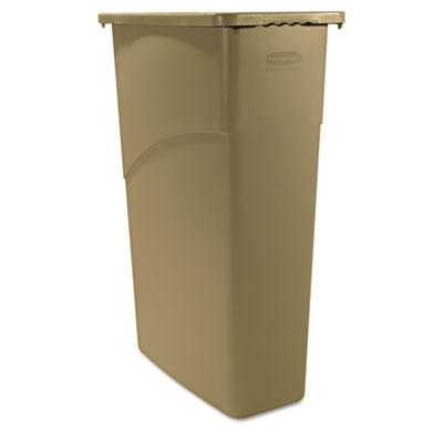 Rubbermaid Commercial Slim Jim Large Rectangular Waste Receptacle
