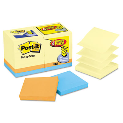 Post-it Pop-up Notes Original Pop-up Notes Value Pack
