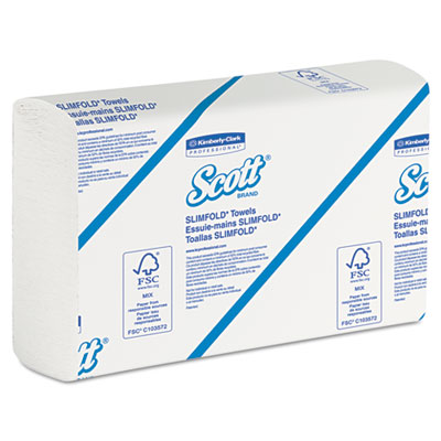 KIMBERLY-CLARK PROFESSIONAL* SCOTT SLIMFOLD* Towels