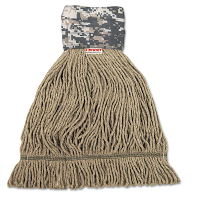 UNISAN Patriot Looped End Wide Band Mop Head