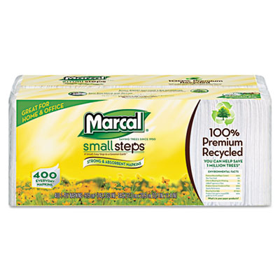 Marcal Small Steps 100% Premium Recycled Luncheon Napkins