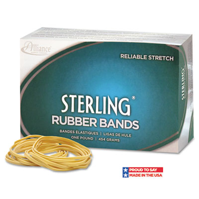 Alliance Sterling Ergonomically Correct Rubber Bands
