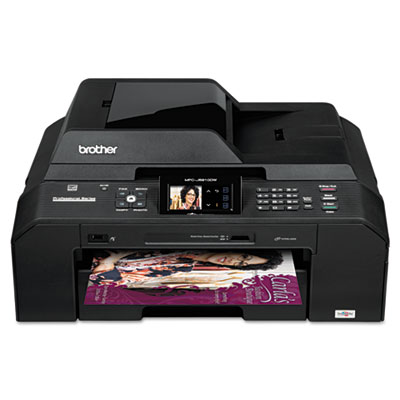 Brother MFC-J5910DW All-in-One Color Inkjet Printer with 11