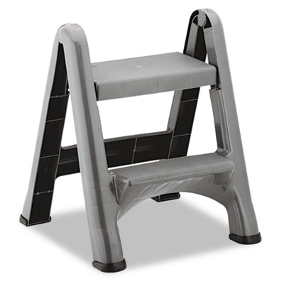Rubbermaid Commercial Two-Step Folding Stool