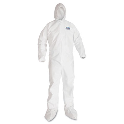 KIMBERLY-CLARK PROFESSIONAL* KLEENGUARD* A40 Liquid & Particle Protection Coverall To-Go