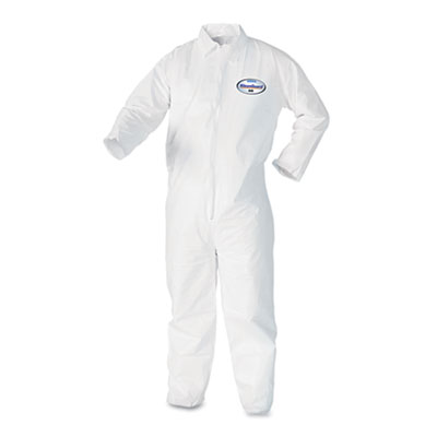 KIMBERLY-CLARK PROFESSIONAL* KleenGuard A40 Liquid & Particle Protection Coveralls 44305