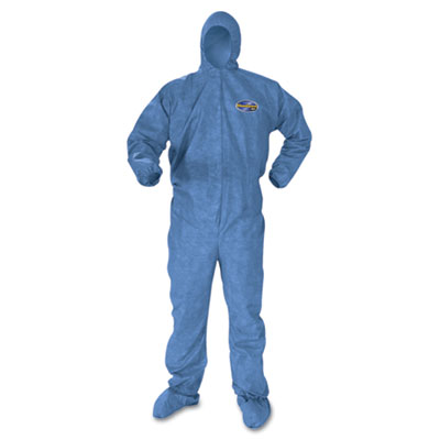 KIMBERLY-CLARK PROFESSIONAL* KLEENGUARD* A60 Elastic-Cuff and Back Hood and Boot Coveralls