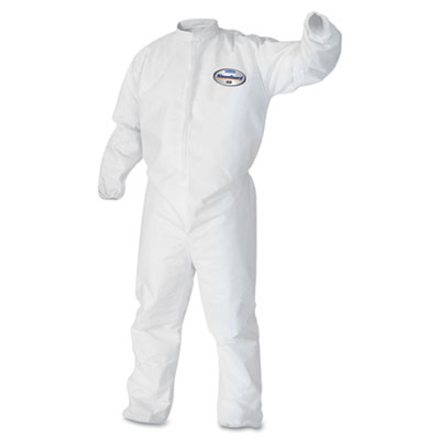 KIMBERLY-CLARK PROFESSIONAL* KLEENGUARD* A30 Elastic-Back and Cuff Coveralls