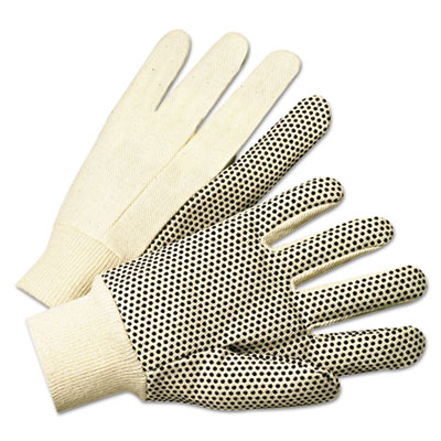 Anchor Brand PVC-Dotted Canvas Gloves