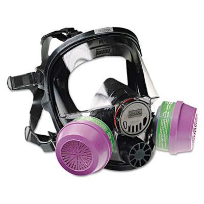 North Safety 7600 Series Full-Facepiece Respirator Mask