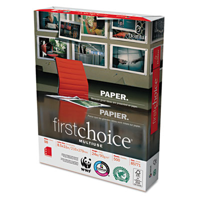 Domtar First Choice MultiUse Premium Paper