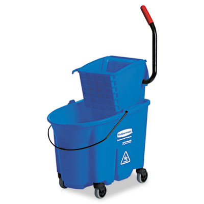 Rubbermaid Commercial WaveBrake Side-Press Wringer/Bucket Combo