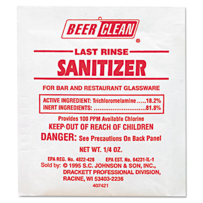 Diversey Beer Clean Last Rinse Sanitizer