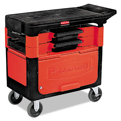 Rubbermaid Commercial Trades Cart
