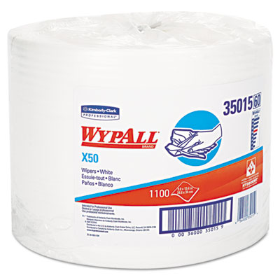 KIMBERLY-CLARK PROFESSIONAL* WYPALL* X50 Wipers