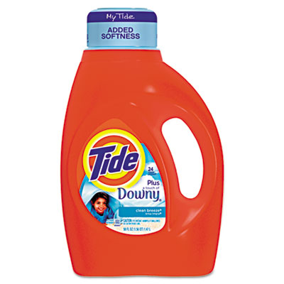 Tide With a Touch of Downy Liquid Laundry Detergent