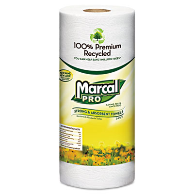 Marcal PRO 100% Premium Recycled Perforated Towels