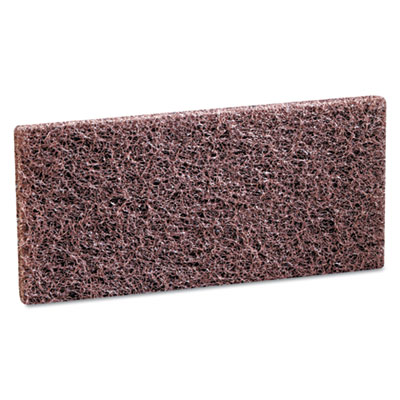 3M Doodlebug Brown Scrub 'n Strip Pad