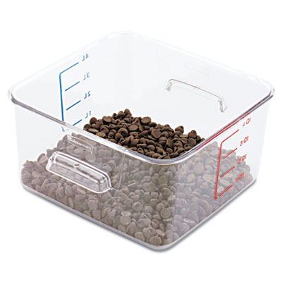 Rubbermaid Commercial SpaceSaver Square Containers