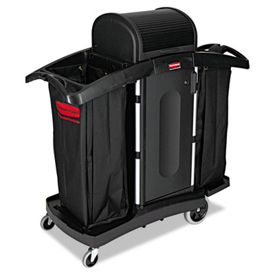 Rubbermaid Commercial High-Security Housekeeping Cart