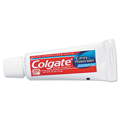 Colgate Fluoride Toothpaste, Personal Sized