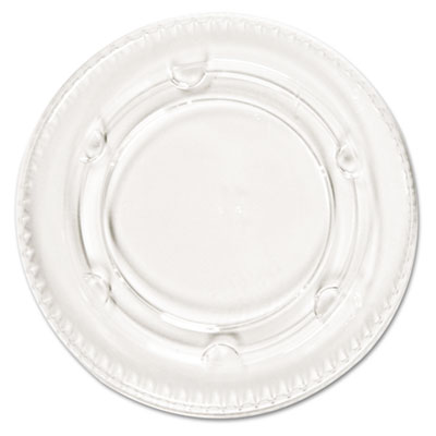 Boardwalk Crystal-Clear Portion Cup Lids