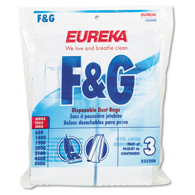 Electrolux Sanitaire Disposable Dust Bags With Allergen Filtration For Sanitaire Commercial Upright