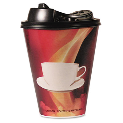 Pactiv Prairie Packaging Stem Labeled Envellop Hot Paper Cups