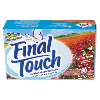 Final Touch Dryer Sheets