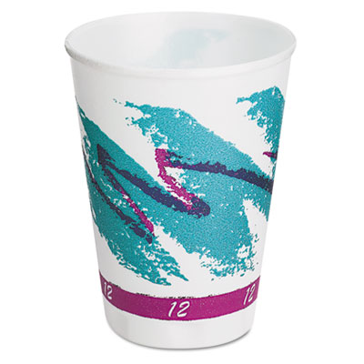 SOLO Cup Company Trophy Plus Dual Temperature Insulated Cups in Jazz Design