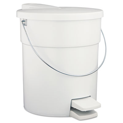 Rubbermaid Commercial Indoor Utility Step-On Waste Container