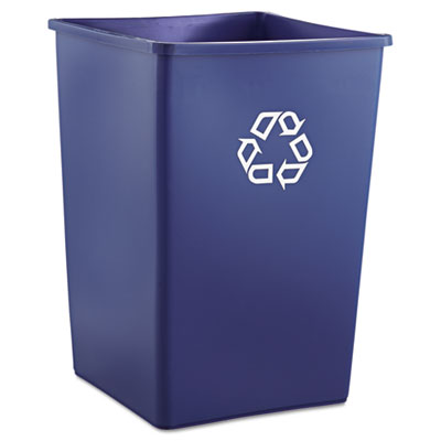 Rubbermaid Commercial Square Recycling Container