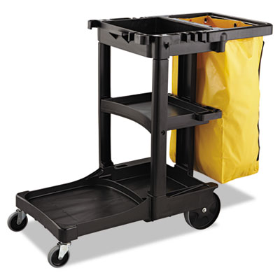 Rubbermaid Commercial Zippered Vinyl Cleaning Cart Bag