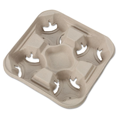 Chinet StrongHolder Molded Fiber Cup Trays