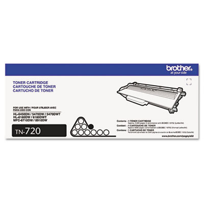 Brother TN720, TN750 Toner