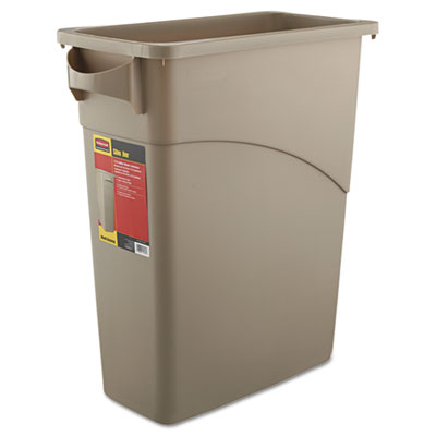 Rubbermaid Commercial Slim Jim Waste Container