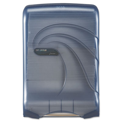 San Jamar Large Capacity Ultrafold Multifold/C-Fold Towel Dispenser
