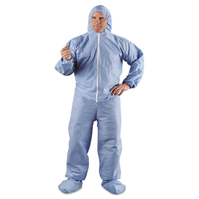 KIMBERLY-CLARK PROFESSIONAL* KLEENGUARD* A65 Elastic-Cuff Hood & Boot Flame-Resistant Coveralls