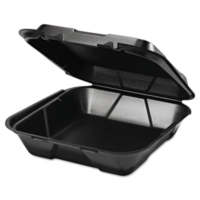 Genpak Snap It Hinged-Lid Foam Food Container