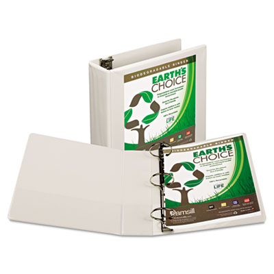 Samsill Earth's Choice Biodegradable Round Ring View Binder
