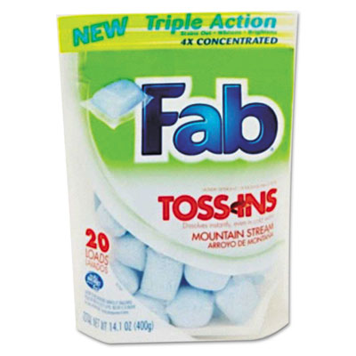 FAB Toss Ins Powder Laundry Detergent
