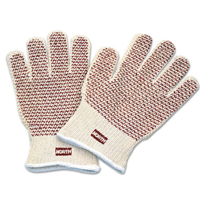 North Safety Grip N Hot Mill Nitrile Coated Gloves