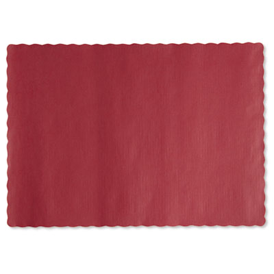 Hoffmaster Solid Color Placemats