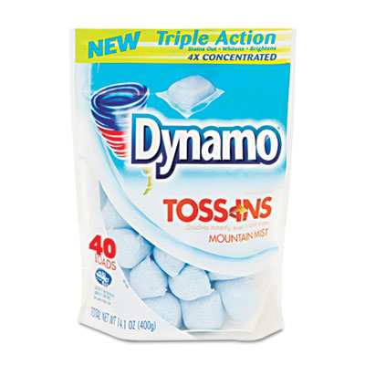 Dynamo Toss Ins Powder Laundry Detergent