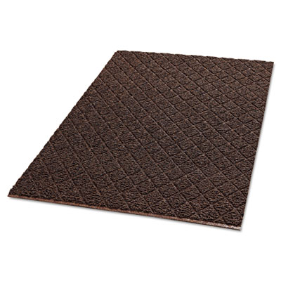 Crown Unbacked Diamond-Deluxe Duet Vinyl-Loop Floor Mat
