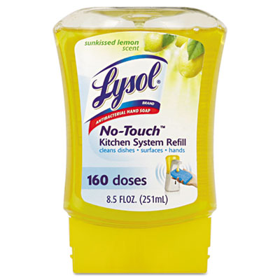 LYSOL Brand No Touch Kitchen Soap Refills