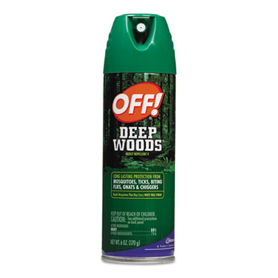 OFF! Deep Woods Aerosol Insect Repellent