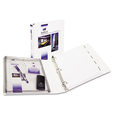 Avery Protect and Store Durable View Binder with Slant Rings