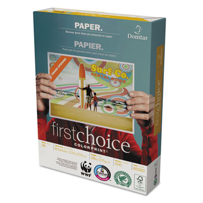 Domtar First Choice ColorPrint Premium Paper