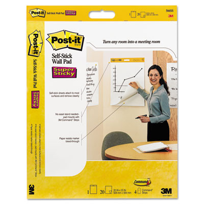 Post-it Easel Pads Self-Stick Wall Pad